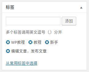 WordPress基础教程:文章发布之编辑器模块介绍1 WordPress 第12张