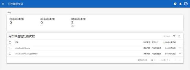 关于Google AdSense出现网页级违规的处理 建站经验 第2张