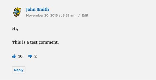 WordPress帖子评论喜欢或不喜欢功能的插件 Plugins 第4张