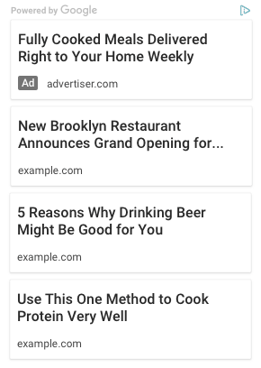 AdSense匹配内容:借助谷歌智能匹配实现正文相关推荐 建站经验 第8张