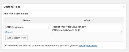 WordPress轻松添加JavaScript代码的3种方法 WordPress 第3张