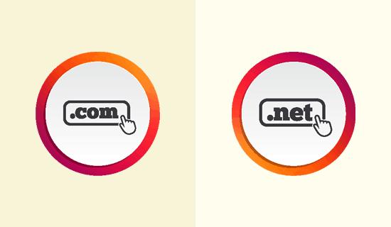 域名后缀com和net之间有什么区别?哪个比较好? 第1张