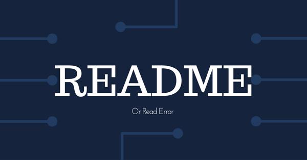 博客站长要养成阅读ReadMe的好习惯 海纳百川 第1张